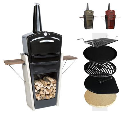 gooker ets glad un four grill en fonte multifonctions. Black Bedroom Furniture Sets. Home Design Ideas